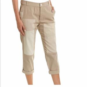 Standard James Perse Straight Leg Patch Cropped